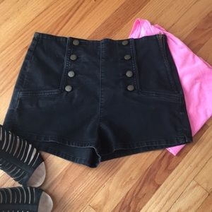 3 for $25 Sneak Peek High Waisted Sailor Shorts